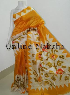 Batik Soft Silk Saree