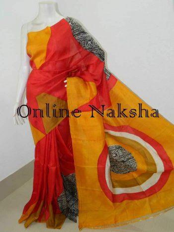Pure Silk Printed Saree