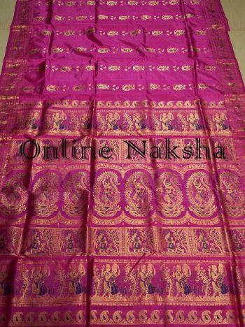 Bishnupuri Swarnachari Saree Online