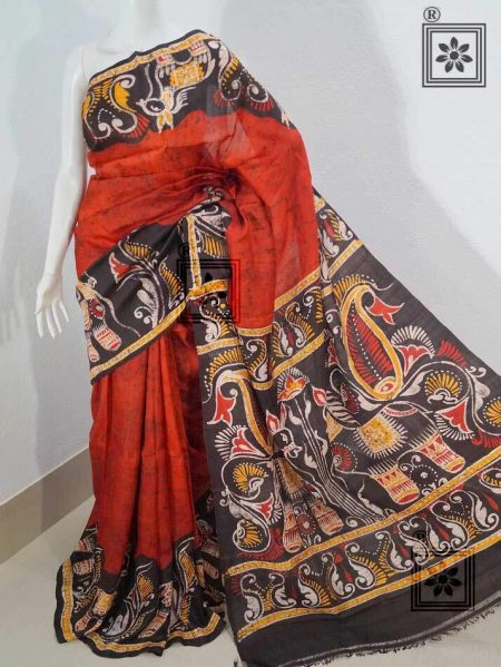 Handloom Batik Silk Saree Online