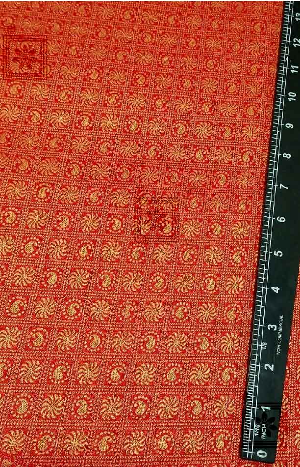Wedding Marriage Blouse Designer Red Fabric