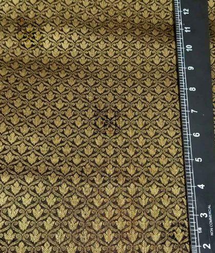 Designer Cotton Black Fabric for Blouse