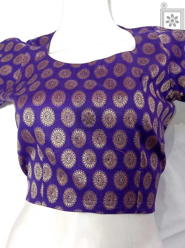 Designer Cotton Readymade Blouse