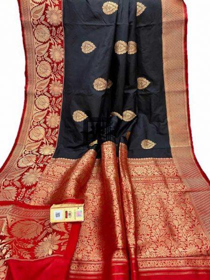 Buy Online Pure Katan Banarasi Saree